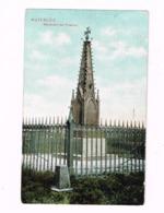 Monument Des Prussiens.Militaria. 1815.Expédié De Bruxelles à Cureghem. - Waterloo