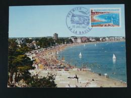 Carte Maximum Card Plage De La Baule 44 Loire Atlantique 1967 - 1960-69