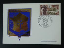 Carte Maximum Card 2ème DB Général Leclerc Strasbourg 1969 - Seconda Guerra Mondiale