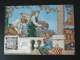 Carte Maximum Card élaboration Du Champagne 51 Reims Marne 1987 - Wines & Alcohols