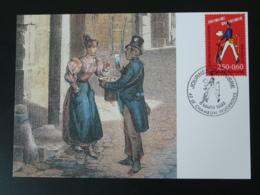 Carte Maximum Card Histoire Postale Postal History Facteur Postman Journée Du Timbre 42 Le Chambon Feugerolles 1993 - Maximumkarten