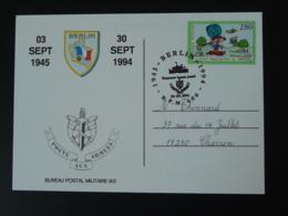 Carte Oblitéré Poste Aux Armées Bureau Postal Militaire BPM 600 Berlin 1994 - Postmark Collection (Covers)