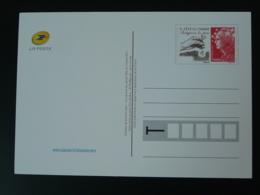 Entier Postal Carte Marianne De Beaujard Protégons La Nature Le Timbre Fête La Terre 2001 - Entiers Postaux