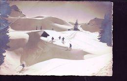 Skieurs A Adelboden - BE Berne