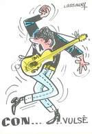 Illustrateur Lassalvy - Con Vulse Guitare    B 45 - Lassalvy