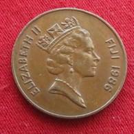 Fiji 2 Cents 1986 KM# 50 - Fiji