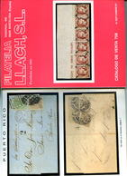 Vente Sur Offres Feldman,Filatelia LLACH Espagne ,Philaclaire,l'archive Magazine,Guy Du Vachat,lot 5 Catalogues De 1987 - Catalogues For Auction Houses