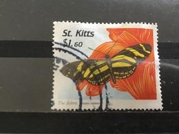 St Kitts - Vlinders (1.60) 1997 - St.Kitts En Nevis ( 1983-...)