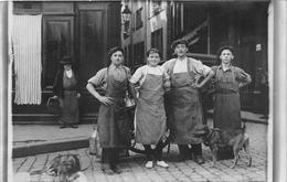 ¤¤   -  Carte-Photo Non Située   -  Laitiers Devant Un Attelage De Chiens  -  Voiture à Chiens  -  Laitière   -   ¤¤ - Street Merchants