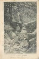 CPA 25 Doubs Environs De Besançon Cascade De L'Enfer à Morre Collection Des Tableaux De M. Tremolières - France