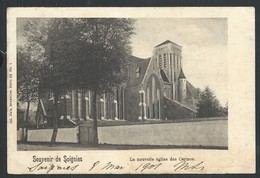 +++ CPA - Souvenir De SOIGNIES - La Nouvelle église Des Carmes - Nels Série 68 N° 1  // - Soignies