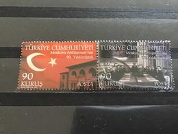 Turkije / Turkey - Complete Set Grensverdrag Moskou (90) 2011 - 1921-... Republiek