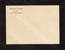 1893 Enveloppe Auguste Forge Notaire à Dottignies - Belgium