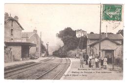 Orsay  (  (91 - Essonne ) Station Du Guichet  - Arrivée Du Train - Environs De Saclay (91) - Orsay