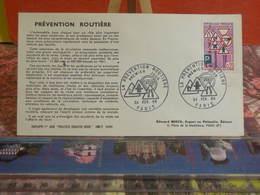 Prévention Routière (75) Paris - 24.2.1968 FDC 1er Jour - Coté 2€ - FDC
