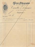 1893 Chromo Lithographie Carette Donnez Bruxelles - Belgium