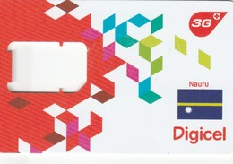 Nauru - Digicel 3G - GSM SIM (frame) - Nauru