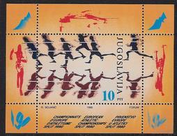 Europa 1990 Atletiek Europ. - Neufs
