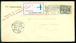 Nederland 13 Januari1940 Per IJspostvlucht KLM Naar Geïsoleerde Eilanden Van Den Haag Naar Urk VH H 63 - 1891-1948 (Wilhelmine)