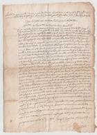 1789 - Lettera Manoscritta (permuta Di Un Terreno - Luogo: Sardegna, Lingua: Spagnolo). - Manoscritti