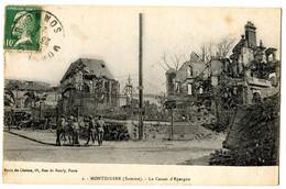 CPA 80 MONTDIDIER Caisse D' Epargne ( Guerre 1914 1918) - Montdidier