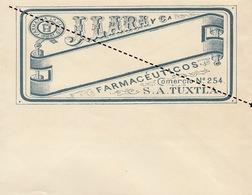 1893 Enveloppe Pharmacie Lara Farmaceuticos Tuxtla - Belgium