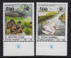 Europa 1992 Natuurbescherming - 1992-2003 République Fédérale De Yougoslavie