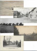 Villages Du Territoire De Belfort - Lot De 10 Cartes Anciennes - France
