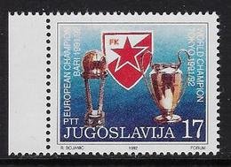 Europa 1992 Rode Ster Belgrado - 1992-2003 République Fédérale De Yougoslavie