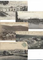 Villages Du Doubs - Lot De 10 Cartes Anciennes - Non Classés