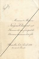 1899 Naissance De Frantz Nuyens Clément - Geburt & Taufe