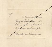 1898 Naissance De Léa Prosper Verlinden - Geburt & Taufe