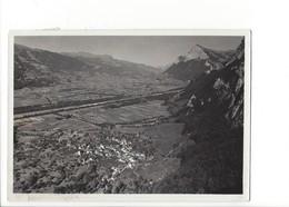 21291 -  Fläsch Mit Rhein U. Gonzen + Beau Cachet Bad Ragaz ( Format 10 X 15 ) - SG St. Gall