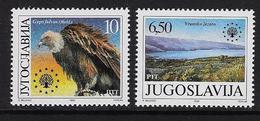Europa 1990 Natuurbescherming - Neufs