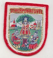 Scherpenheuvel Badge Ecusson En Velour O L V - Ecussons Tissu