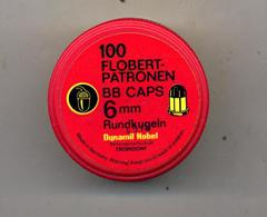 Boite Vide Munition Dynamit Nobel Flobert Bb Caps - Boîtes