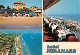 Cartolina Roseto Degli Abruzzi Hotel Miramare 3 Vedute - Teramo