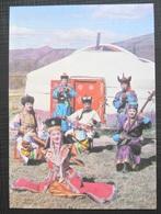 Mongolia, Traditional Costume - Mongolie