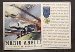 Militaria - Locandina Propaganda RSI - Medaglia D'Oro Mario Anelli - 1943 - Documents