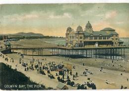 UNITED KINGDOM / ROYAUME - UNI - Colwyn Bay : The Pier - Caernarvonshire