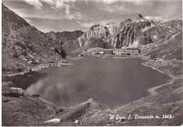 AOSTA LE LAC DU GRAND ST.BERNARD CART ANNULLO TARGHETTA OBBLIGAZZIONI.... - Italia