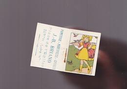 Calendrier Petit Format - 1929 - Papeterie Briand, Place De L'église Derval - Calendriers