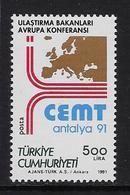 Europa 1991 Europ.verkeer - 1921-... République