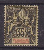 MADAGASCAR :  N° 46 * . TB . 1900/06 . - Madagascar (1889-1960)