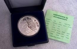 NEDERLAND, SILVER COIN, PROOF .925, 25 ECU, 1991, ERASMUS - [ 8] Monnaies D'or Et D'argent