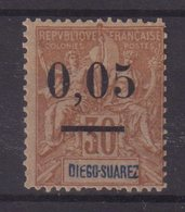MADAGASCAR :  N° 59 * . UNE DENT COURTE . 1902 . - Madagascar (1889-1960)