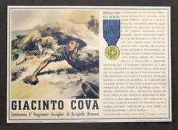 Militaria - Locandina Propaganda RSI - Medaglia D'Oro Giacinto Cova - 1943 - Documenti