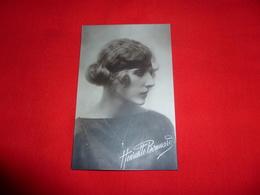 Cartolina Henriette Bonnard Attrice - Donne Celebri
