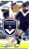 TC°-PUBLIC-F1351-50U-GEM1-11/05-FOOT-GIRONDINS De BORDEAUX-UTILISE-TBE - France