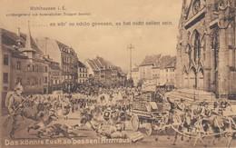 Mümhausen I. E. - Vorübergehend Von Französischen Truppen Besetzt - Mulhouse